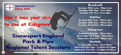 Regional Park & Pipe Talent Sessions